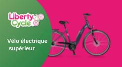 Vélo électrique supérieur